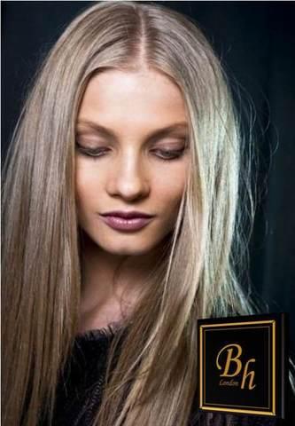 Волосы на кератиновых капсулах цвет #22- Темный пепельный блонд -52 см