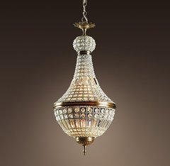 19th C. French Empire Crystal Chandelier 18