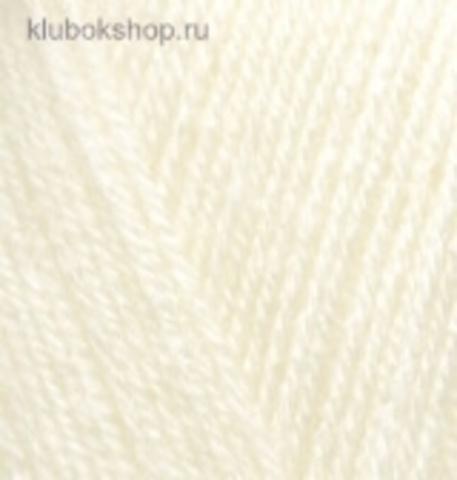 Alize Sekerim BEBE 01 Кремовый - фото