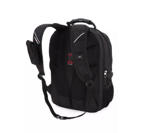 Рюкзак SWISSGEAR «SCANSMART», 17'', black, фото 4