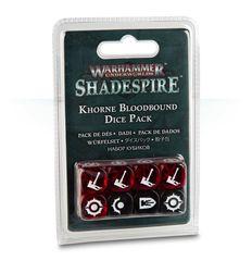 Warhammer Underworlds: Shadespire - Khorne Bloodbound Dice Pack