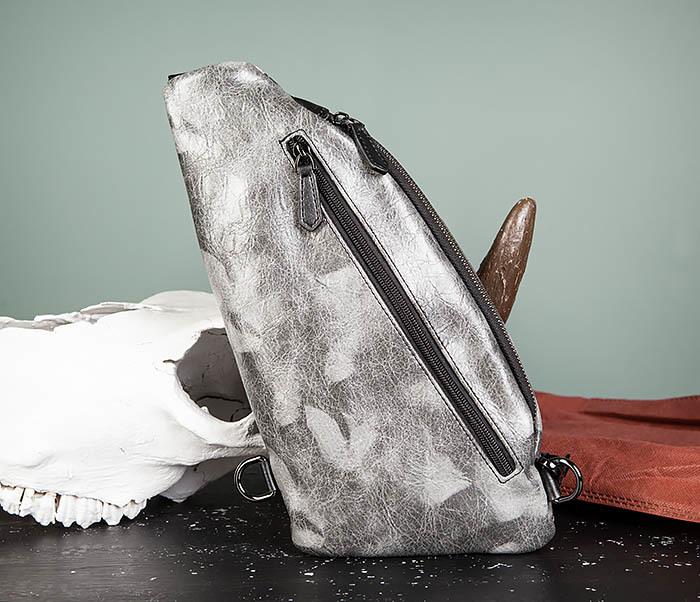 BAG487-3 Мужская сумка «банан» через плечо фото 10