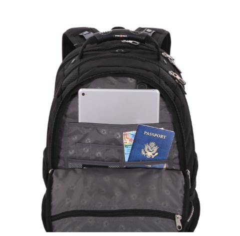 Рюкзак SWISSGEAR «SCANSMART», 17'', black, фото 5