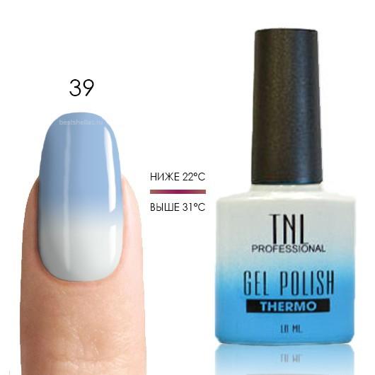 Термо TNL, Термо гель-лак № 39 - голубой/белый, 10 мл 39.jpg