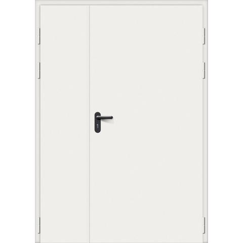 Дверь противопожарная стальная серая 1-60