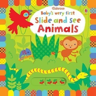 Kitab Baby's Very First Slide and See Animals | Fiona Watt