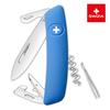 Швейцарский нож SWIZA D03 Standard, 95 мм, 11 функций, синий (блистер)
