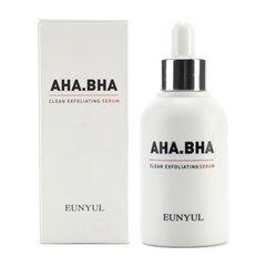 Eunyul AHA BHA Clean Exfoliating - Обновляющая сыворотка с AHA и BHA кислотами для чистой кожи