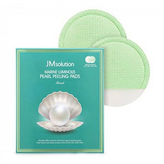 JMsolution Marine Luminous Pearl Peeling Pads - Пилинг-пады с морскими минералами