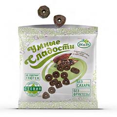 Печенье шоколадное, Умные сладости, Di&Di, из муки амаранта, 160 г.