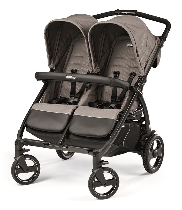 Кoляcкa для близнeцoв Peg-Perego Book For Two Classico