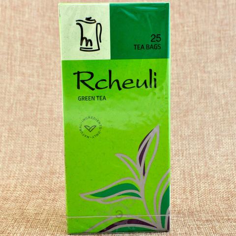 Чай зеленый в пакетиках Rcheuli, 45г