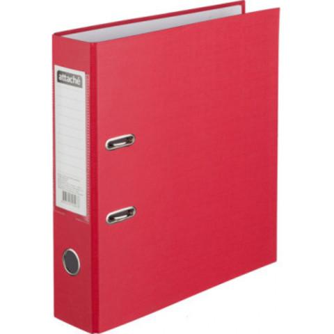 Папка с арочн.мех.ATTACHE (ПВХ+бумага), 75мм, красный