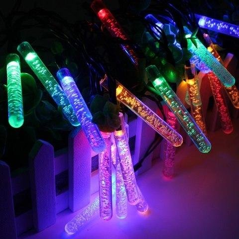 Электрическая светодиодная гирлянда-Сосульки