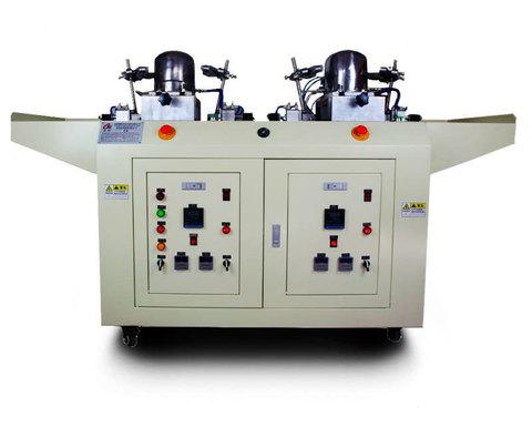 Автоматическая гладильная 2-х головочная машина для бейсболок H-102 | Soliy.com.ua
