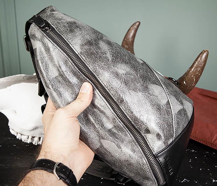 BAG487-3 Мужская сумка «банан» через плечо фото 13
