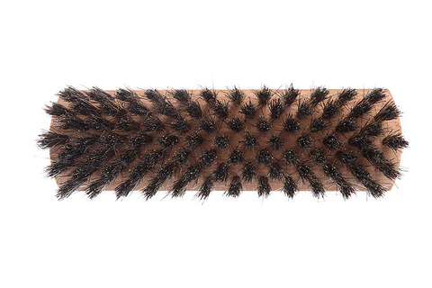 YOZHIK Щётка для обуви (140x40, чёрная натуральная щетина)
