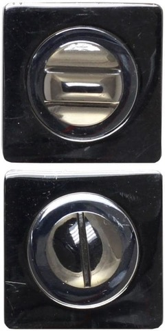 Фурнитура - Завёртка  Vantage BK02 BN/CP, цвет чёрный никель/хром  (гарантия - 12 месяцев)