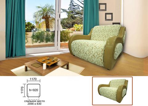 Кресло-кровать КАПРИЗ-2 c ящиком