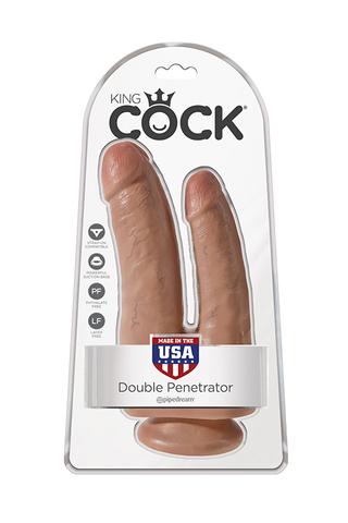 Фаллоимитатор для двойного проникновения King Cock