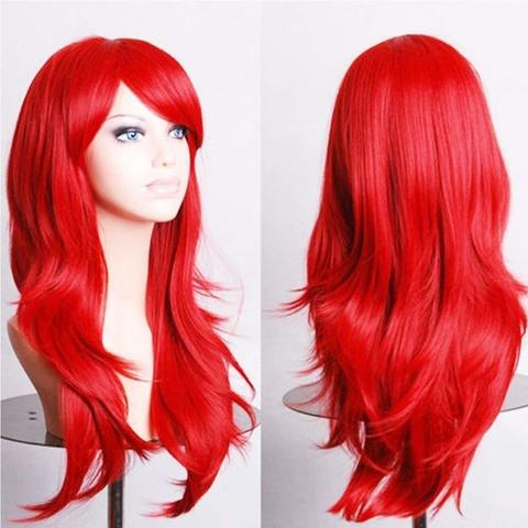Red Wigs For Women Fancy Dress Cosplay Wigs For Women