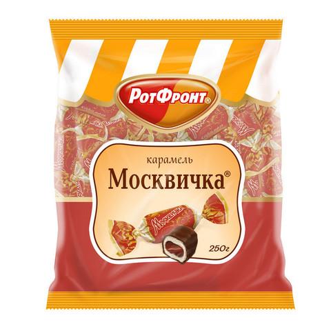 Конфеты Карамель Москвичка 250г