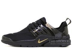 Кроссовки Женские Nike Air Presto Black Gold