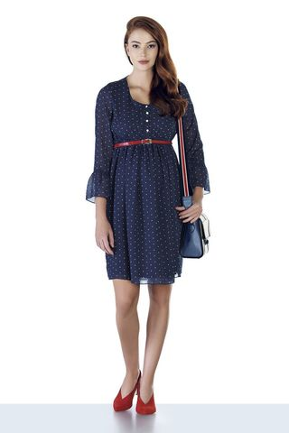 Платье 08939 синий