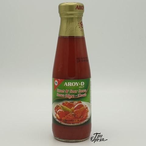 Соус кисло-сладкий AROY-D, 215 гр