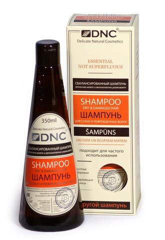 DNC Шампунь для сухих и поврежденных волос 350мл