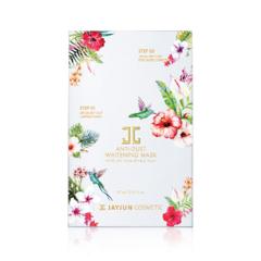 Выравнивающий тон кожи трёхшаговый детокс-комплекс / JayJun Anti-Dust Whitening Mask
