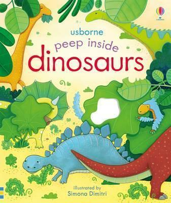 Kitab Peep Inside Dinosaurs | Anna Milbourne