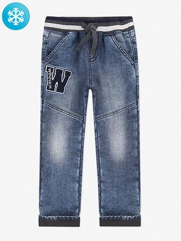 BWB000044 джинсы для мальчиков утепленные, медиум
