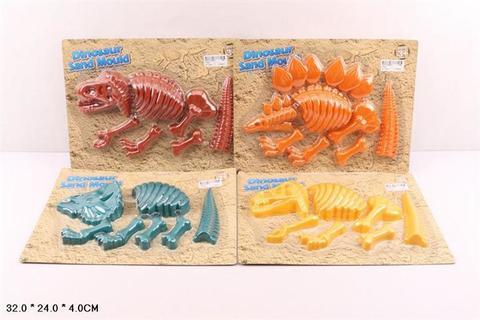СПЕЦЦЕНА Набор археолога на картоне , формочки динозавра/TX001