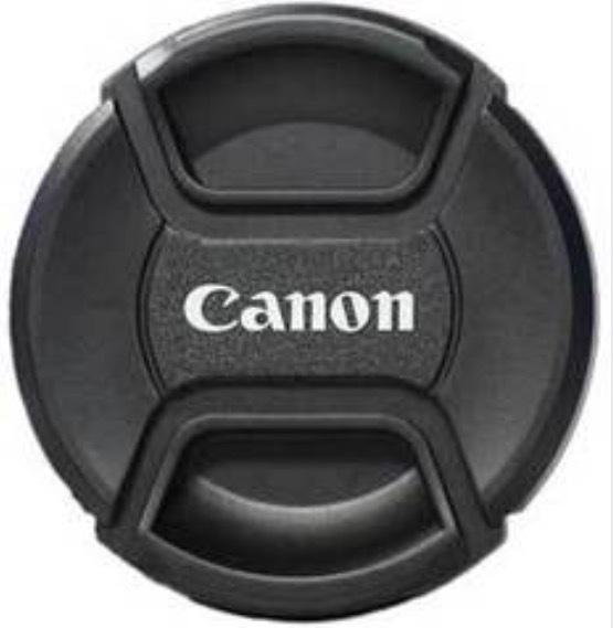 Крышка для объективов для Canon с надписью Canon 58мм (как оригинал)