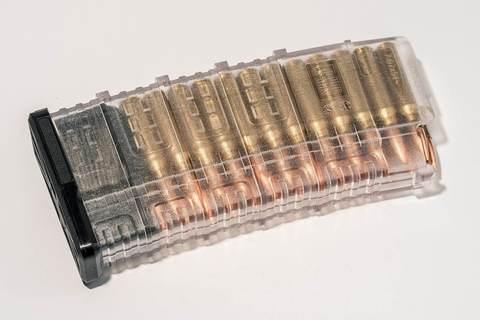 Магазин Pufgun Сайга-308 на 25 патронов, прозрачный