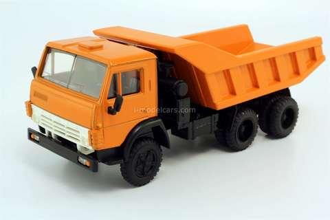 KAMAZ-5511 orange Elecon Made in USSR 1:43