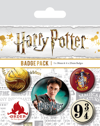 Значки Pyramid: Harry Potter (Gryffindor)