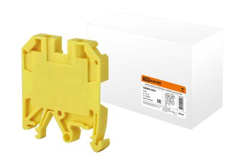 Зажим наборный ЗНИ-4мм2 (JXB35А) желтый TDM