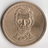 K6144, 2010, США, 1 доллар D Линкольн