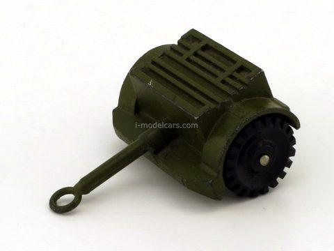 Military technics. Trailer for shells. Tula Cartridge Plant