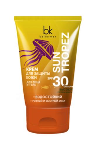 BelKosmex Sun Tropez Крем для защиты кожи лица и тела SPF 30 120г