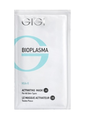 Gigi Bioplasma Активизирующая маска для всех типов кожи, 20мл. х5ш