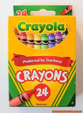 Crayola 24 шт Восковые мелки