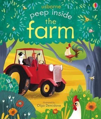 Kitab Peep Inside the Farm   Anna Milbourne