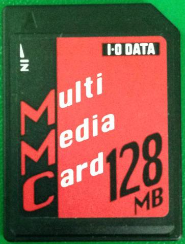 Карта памяти Multi Media Card 128 Mb