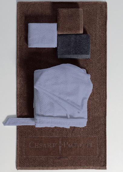 Наборы полотенец Набор полотенец 2 шт Cesare Paciotti Twin Pave Jaco коричневый nabor-polotenets-twin-pave-jaco-ot-cesare-paciotti-3.jpg