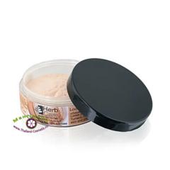 Пудра с куркумой и танакой,минеральная рассыпчатая (тон № 1,  розовый), HerbCare