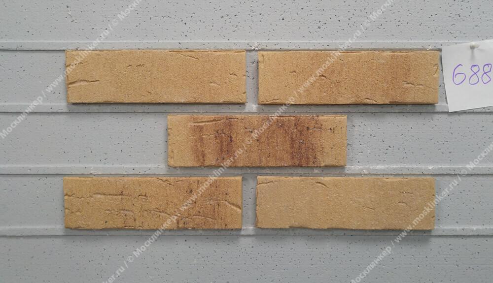 Плитка-клинкер под кирпич Feldhaus Klinker, Sintra, R688NF14, ручная формовка, sabioso
