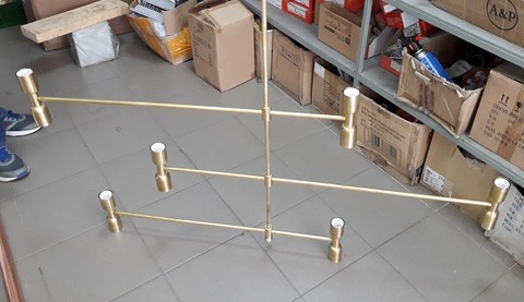 GIA 12 bulbs chandelier by Art - metal (HK)